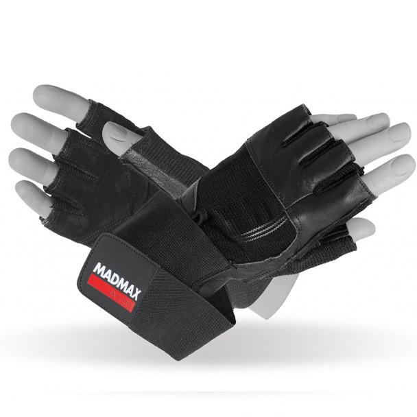 Экипировка Перчатки MAD MAX Professional Exclusive, черные - MFG 269 L