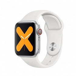 Умные Смарт Часы Supero Smart Watch X7 С Тонометром Белые