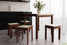 Комплект Элегант: стол + табуреты/4шт ЧДК