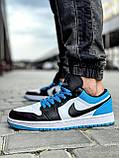 Кроссовки мужские 18251, Nike Jordan, белые [ 42 43 44 45 ] р.(42-26,7см), фото 3