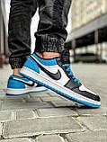 Кроссовки мужские 18251, Nike Jordan, белые [ 42 43 44 45 ] р.(42-26,7см), фото 6