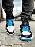 Кроссовки мужские 18251, Nike Jordan, белые [ 42 43 44 45 ] р.(42-26,7см), фото 7