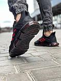 Кросівки чоловічі 18613, Adidas x Pharrell Vento (TOP), чорні, [ 41 42 43 44 45 46 ] р. 41-26,5 див., фото 4