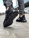 Кроссовки мужские 18614, Adidas x Pharrell Vento  (TOP), черные [ 41 42 43 44 45 ] р.(41-26,5см), фото 4