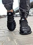 Кроссовки мужские 18614, Adidas x Pharrell Vento  (TOP), черные [ 41 42 43 44 45 ] р.(41-26,5см), фото 6