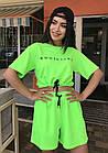 Спортивний костюм жіночий NOBILITAS 42 - 48 зелений трикотаж (арт. 21019), фото 4