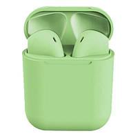 Бездротові навушники TWS i12 Pods (Зелені)