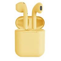 Бездротові навушники TWS i12 Pods (Жовті)