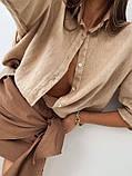Рубашка женская льняная, фото 2
