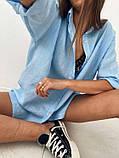 Рубашка женская льняная, фото 9