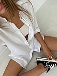 Рубашка женская льняная, фото 7