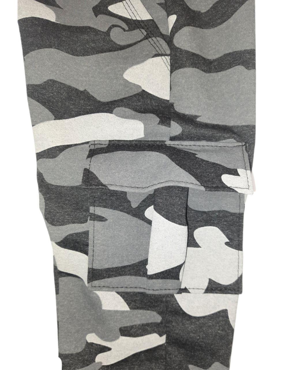Штаны подоросток хаки с боковым карманом двунить