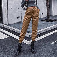 Брюки-джоггеры женские из искусственной кожи Vogue Berni Fashion (S)