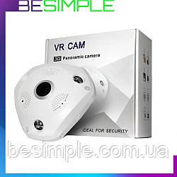 Камера відеоспостереження стельова CAMERA CAD 3630 VR 3mp\360*\dvr\ip