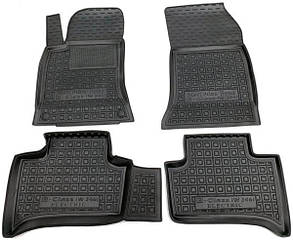 Полиуретановые (автогум) коврики в салон Mercedes / Мерседес B-class (W246) 2014- Electric Drive
