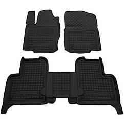 Полиуретановые (автогум) коврики в салон Mercedes / Мерседес  ML (W166) 11-/GLE 14+