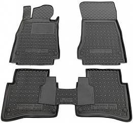 Авто килимки в салон Mercedes S (W222) 2013 - short/Мерседес