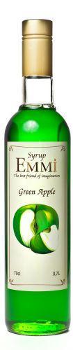 Сироп Эмми (Емми) Зеленое яблоко 700 мл (900 грамм) (Syrup Emmi Green apple 0.7)