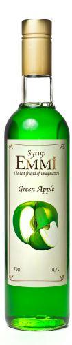 Сироп Еммі Зелене яблуко 700 мл (900 грам) (Syrup Emmi Green apple 0.7)