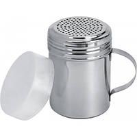Перечница нержавеющая профессиональная с ручкой и колпаком H 100 мм диаметр 70 мм (шт) Империя Посуды EMP_9798