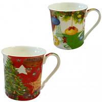 Чашка новогодняя Angel gifts , 4 вида
