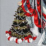 Набор бисера к схеме Winter White Santa от Mirabilia, фото 4