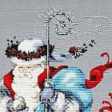 Набор бисера к схеме Winter White Santa от Mirabilia, фото 3