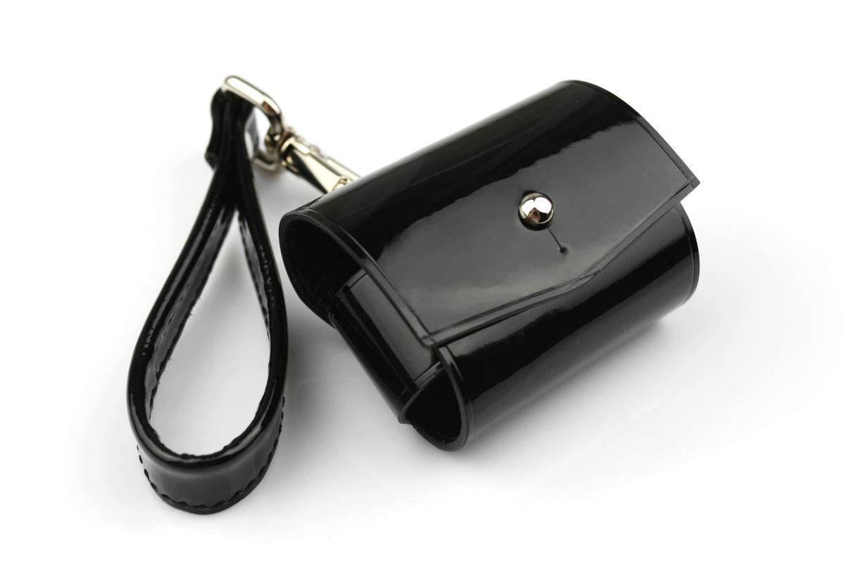 Шкіряний чохол для навушників AirPods Pro чорного кольору Morison Atelier `Molly`