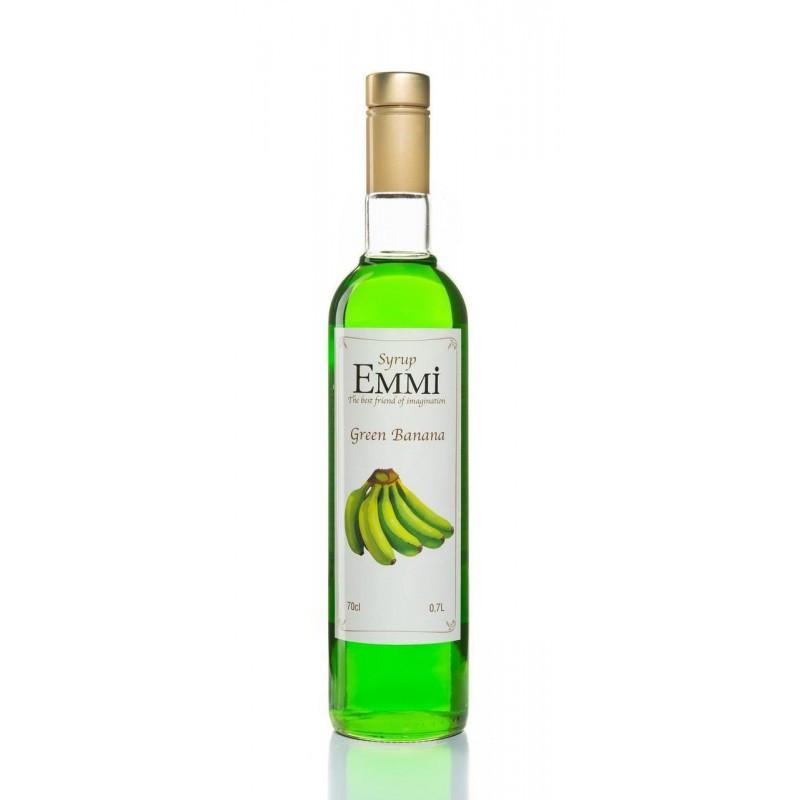 Сироп Еммі Зелений банан 700 мл (900 грам) (Syrup Emmi Green banana 0.7)