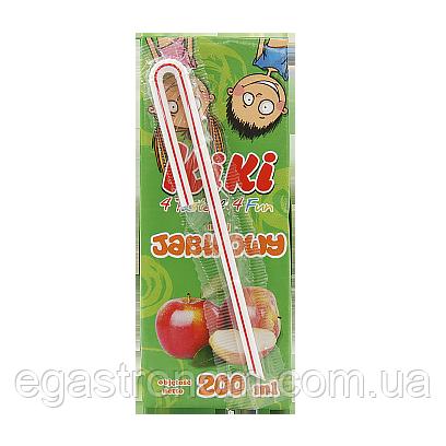 Сік Кікі яблуко Kiki 200g 27шт/ящ (Код : 00-00005971)