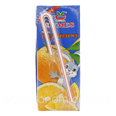 Сік Кимес апельсин Cymes 200g 27шт/ящ (Код : 00-00005970)