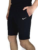 Мужские летние шорты Nike черные, мужские спортивные шорты повседневные Kukuruza