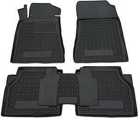 Поліуретанові (автогум) килимки в салон Morris Garages MG 3 2011-/МГ, Морріс Гараж