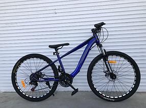 """Гірський Велосипед TopRider 24 дюймів """"550"""" Розмір рами 14 синій"""
