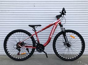 """Гірський Велосипед TopRider 24 дюймів """"550"""" Розмір рами 14 червоний"""