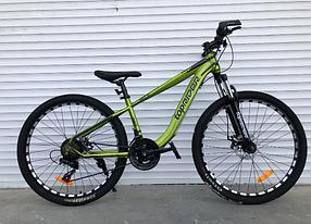 """Гірський Велосипед TopRider 24 дюймів """"550"""" Розмір рами 14 хакі"""