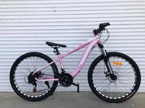"""Гірський Велосипед TopRider 24 дюймів """"550"""" Розмір рами 14 рожевий"""