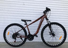 """Гірський Велосипед TopRider 24 дюймів """"550"""" Розмір рами 14 коричневий"""