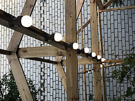 Ретро гирлянда Belt Light (Белт-Лайт), 2 патрона/метр, ip65