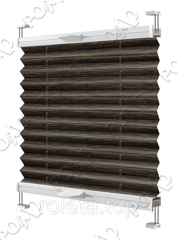 Жалюзи Плиссе Imagine Темно-коричневый