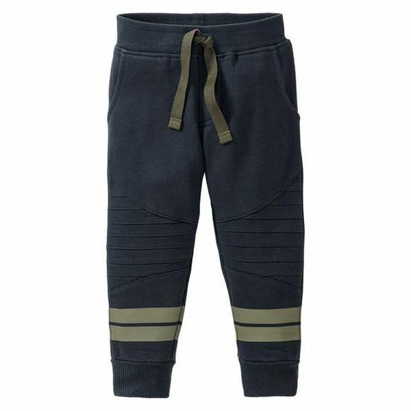 Спортивные брюки для мальчика, рост 110/116, цвет темно-синий