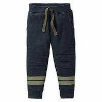 Спортивные брюки для мальчика, рост 110/116, цвет темно-синий, фото 1