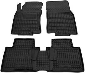 Полиуретановые (автогум) коврики в салон Nissan X-Trail (T32) 2014+/Ниссан Икс трейл