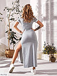 Жіноче плаття в спортивному стилі двухнить, фото 6