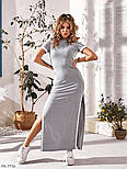 Жіноче плаття в спортивному стилі двухнить, фото 5