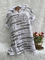 """Туніка жіноча з капюшоном, батал, розмір 2XL-3XL (5кол) """"PULSE"""" недорого від прямого постачальника"""