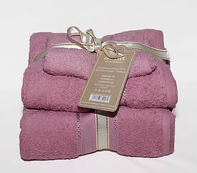 ТМ TAG Набор полотенец Sofia цвет: лиловый