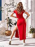 Женское платье летнее длины Макси, фото 4
