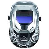 Маска зварювальника хамелеон Vitals Professional Engine 2500 LCD, фото 3