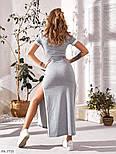 Сукня жіноча літній з розрізами з боків, фото 3